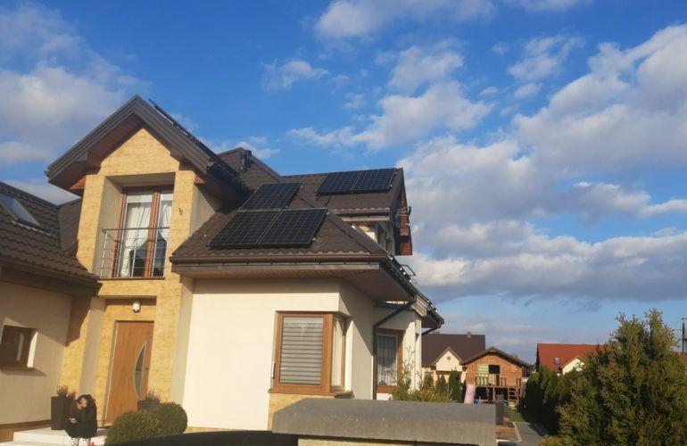 instalacja fotowoltaiczna na dachu mazowieckie