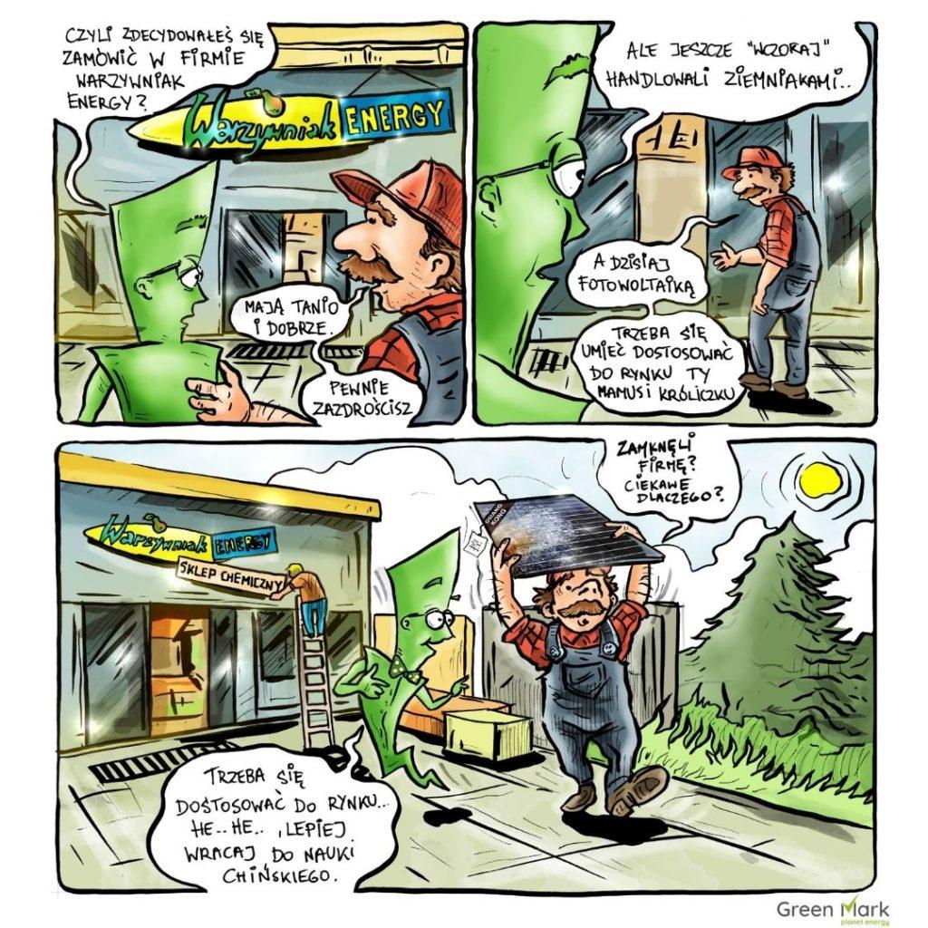 komiks o fotowoltaice odc 8 warzywniak energy
